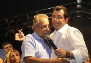 Amazonino Mendes e Eduardo Braga / Divulgação
