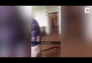 Vídeo de suposto espírito de empregada que morreu queimada viraliza na web - Imagem de reprodução do Youtube