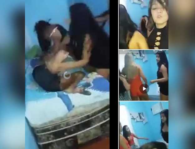 Vídeo mostra adolescente sendo agredida supostamente em Manaus / Reprodução do Facebook