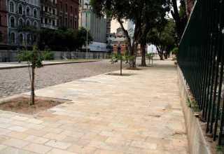 Praça da Matriz recebe últimos ajustes para ser entregue à população / Foto : Altemar Alcântara/Semcom