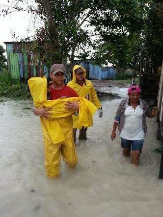 Corpo de Bombeiros desencadeia a operação Arca de Noé para ocorrência de fortes chuvas - Imagem: Divulgação