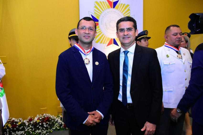 Jamilson Carvalho e David Almeida / FOTO: DHYEIZO LEMOS