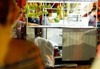 O vendedor foi assassinado na banca onde trabalhava/Foto: Divulgação