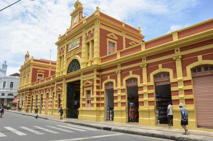 Mercado Adolpho Lisboa / Foto : Divulgação