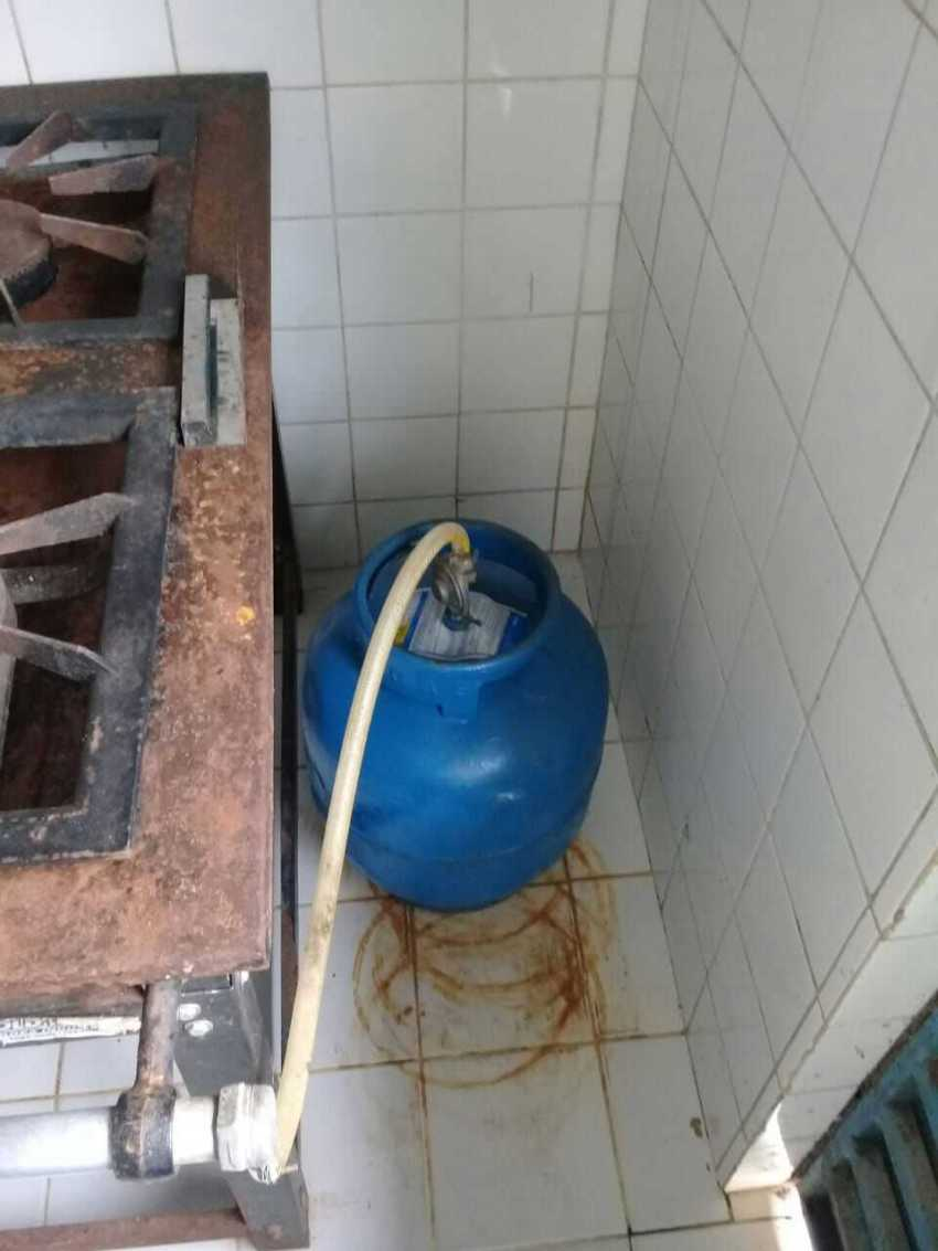 Vigilância Sanitária interdita escola estadual em Pauini / Foto : Divulgação