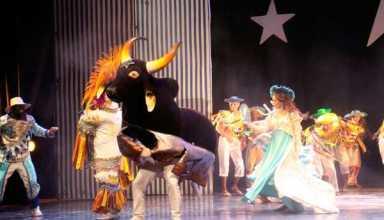 Caprichoso leva sabedoria popular, raízes e cultura ao Teatro Amazonas / Foto: Katiuscia Ferreira