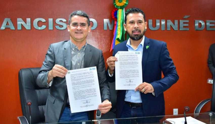 Câmara de Iranduba e Aleam assinam termo de cooperação técnica / Foto: Dhyeizo Lemos