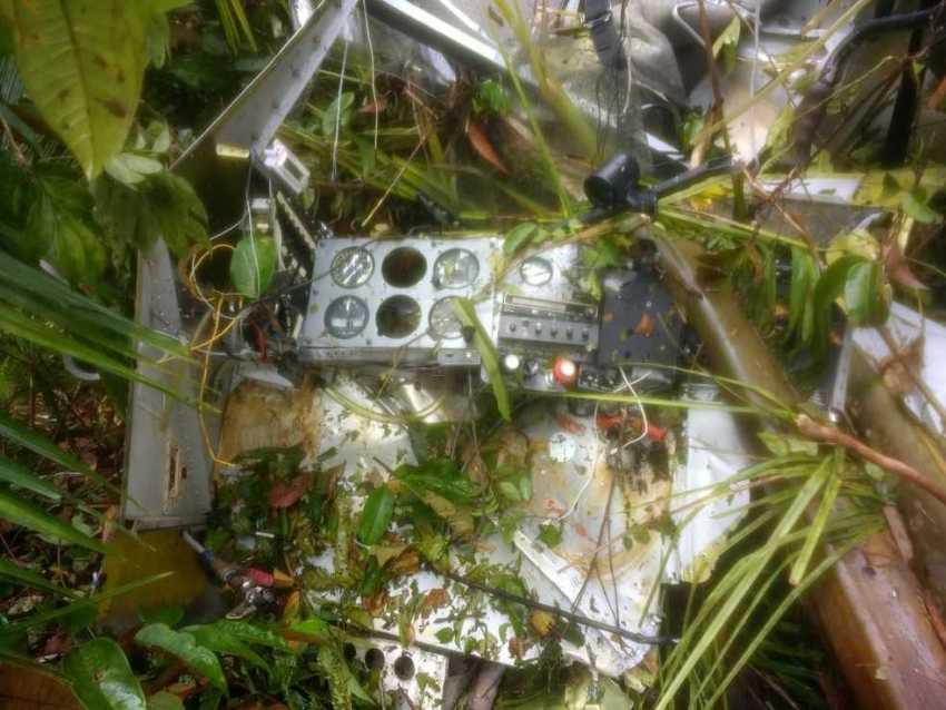 Avião, em missão religiosa, cai no Amazonas, piloto e passageiros sobrevivem com escoriações - Imagem: Divulgação