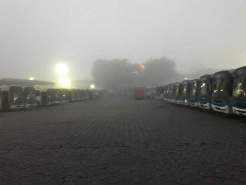 Greve dos rodoviários em Manaus não tem previsão para terminar, afirma presidente de sindicato - Imagem: Via Whatsapp