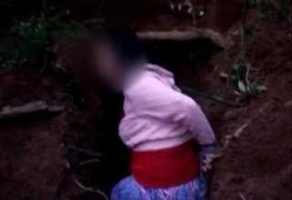 Mulher que teve execução gravada em vídeo é reconhecida pela familia - Imagem : Divulgação