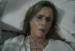 Interpretação de Marieta Severo sofrendo um AVC vira assunto na web / TV Globo/Reprodução