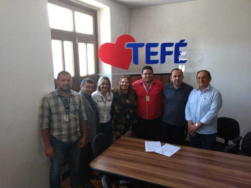 Prefeitura Municipal de Tefé assina termo de acordo com Sebrae e Jucea e lança o Protocolo Digital e Rede SIM - Imagem: Assessoria
