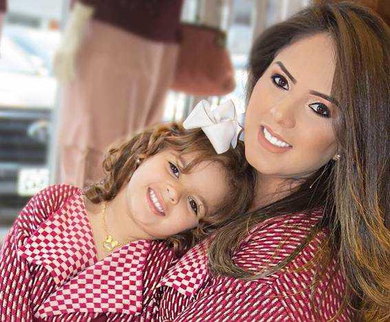 Leydi é mãe da Lara Paranhos
