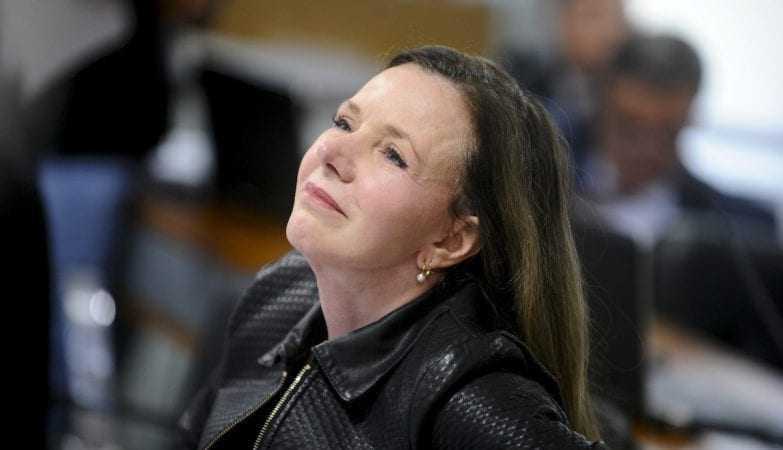 A senadora Vanessa Grazziotin (PCdoB-AM).