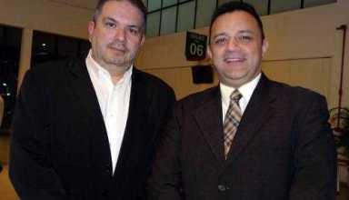 O diretor de Marketing da Amazonastur, Nikolas Cabral dos Anjos e o presidente Orsine Júnior - Foto: Divulgação