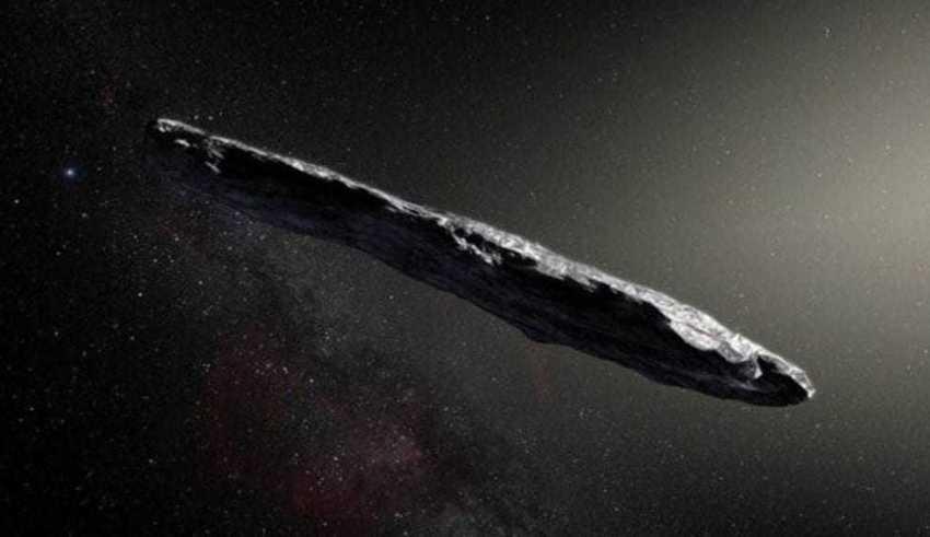 Objeto interestelar pode ter sido enviado à Terra por alienígenas, dizem pesquisadores de Harvard Objeto interestelar pode ter sido enviado à Terra por alienígenas, dizem pesquisadores de Harvard ESO/M. Kornmesser