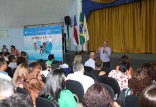 O anúncio foi realizado na manhã desta terça-feira (11) em coletiva de imprensa realizada na sede da Semed/Manaus, no bairro Parque Dez, Zona Centro-Sul da cidade. / Foto: Eduardo Cavalcante/SEDUC