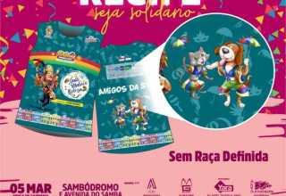 Adquira o seu frevolê da ONG Sem Raça Definida em um dos postos de venda e troca. / Foto: Divulgação