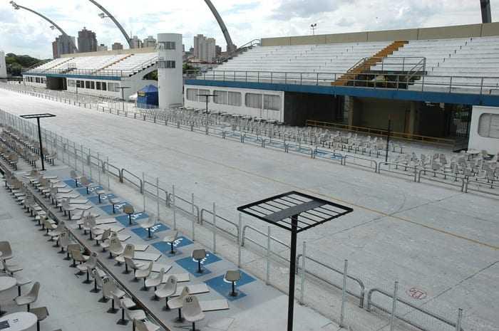 O Sambódromo do Anhembi, em São Paulo, já é todo adaptado para receber as PcDs. / Foto: Divulgação