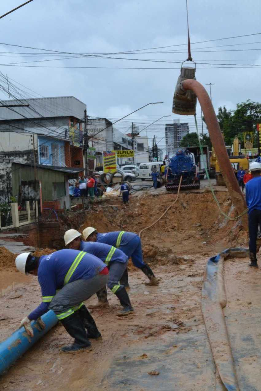 Foto: Julio Guimarães/Águas de Manaus