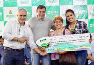 Governador Wilson Lima destaca investimento para setor produtivo em Parintins / DIEGO PERES/SECOM