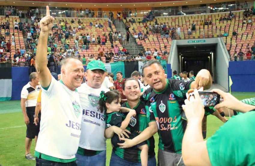 Governo fecha patrocínio de R$ 500 mil com o Manaus FC / Foto: Divulgação