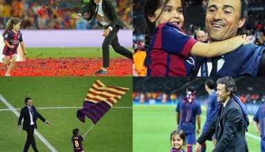 Ha dois meses atras, o treinador Luis Enrique deixou a seleção espanhola para se dedicar ao tratamento de cancer da sua filha de 9 anos. Hoje, Luis Enrique, comunicou a morte sua filha. Força Luis!