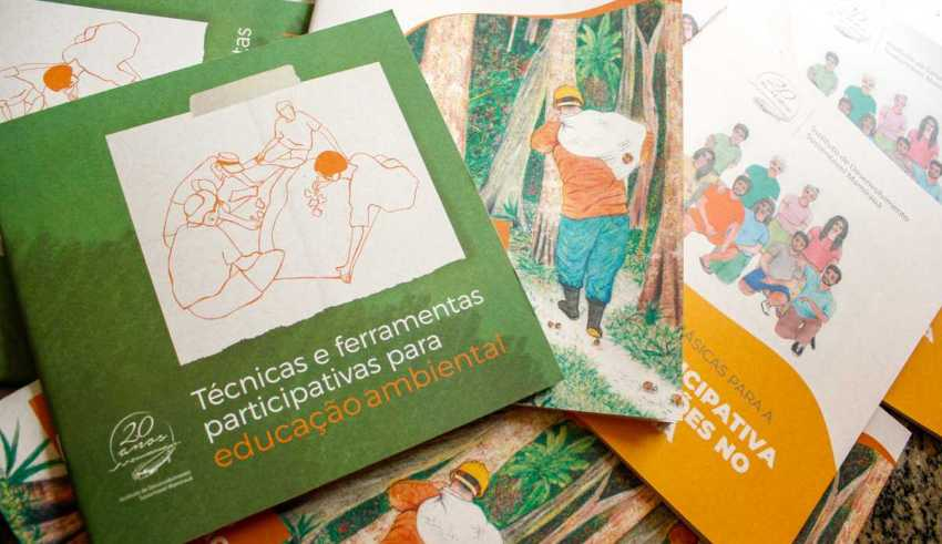 Instituto Mamirauá publica cartilhas sobre educação ambiental e manejo sustentável de recursos naturais