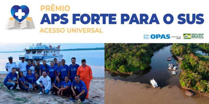 Produzindo inclusão da população ribeirinha pelas ações da Unidade Básica de Saúde Fluvial do município de Tefé, Amazonas