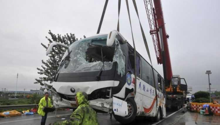 36 pessoas morreram no acidente / Foto : Divulgação