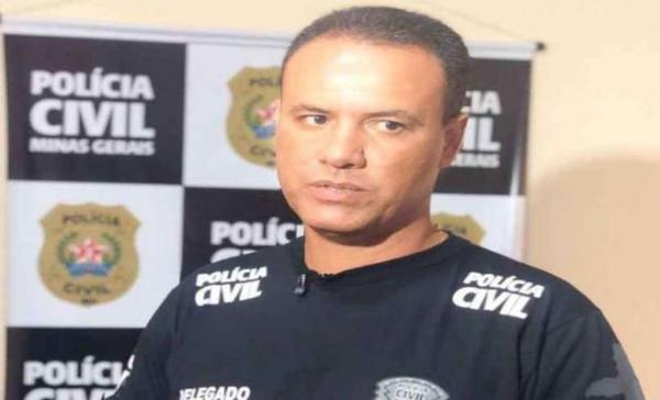 """""""Estávamos no encalço do suspeito"""", afirmou o delegado Welington Faria (foto: PCMG/Divulgação)"""