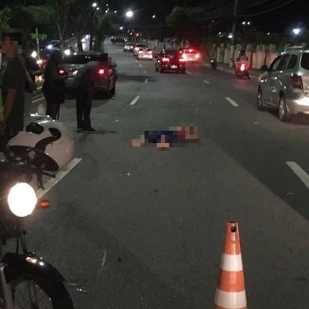 Adolescente de 14 anos atropela e mata homem na Estrada na Ponta Negra