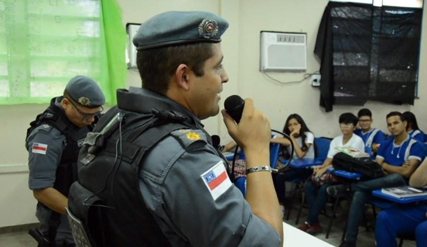 PM intensifica projetos de prevenção à violência nas escolas, na Zona Leste / Foto : Divulgação