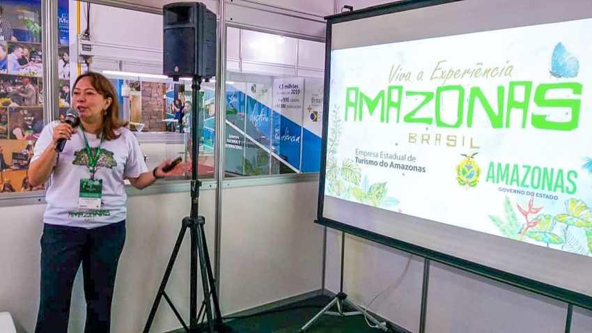 Amazonastur apresenta destino Amazonas na 31ª Feira de Turismo de Gramado / Foto : Divulgação