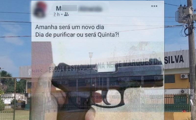 Ameaça de chacina em escola na zona norte de Manaus assusta pais e alunos