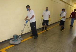 Internos do Ipat concluem curso de Conservação e Limpeza / Divulgação/Seap