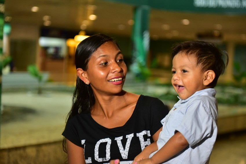 Primeira criança encaminhada para cirurgia cardíaca em São Paulo retorna a Manaus / Foto : Bruno Zanardo/Secom