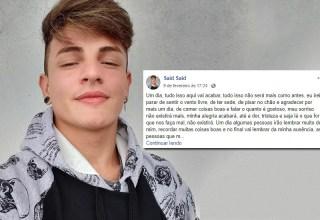 Família busca por jovem que pode ter se suicidado em Manaus