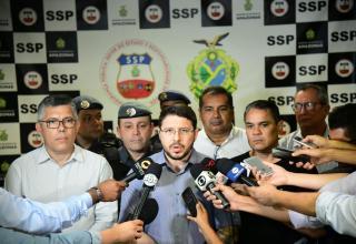 Governo do Amazonas instala Gabinete de Crise para se antecipar a possíveis conflitos decorrentes do combate do Estado ao tráfico de drogas/ Foto: Tácio Melo/ Secom