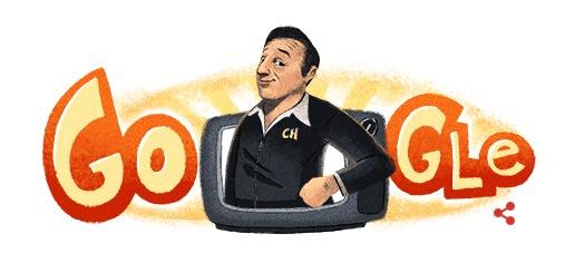 Roberto Gómez Bolaños ganha homenagem do Google no dia em que completaria 91 anos