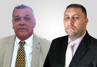 Dr. Ezequiel da Conceição Lima e Dr. João Augusto Cordeiro Ramos