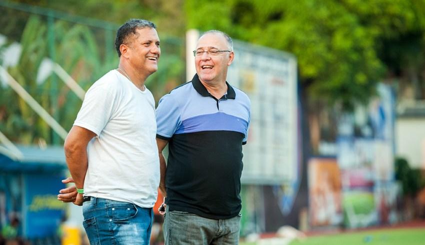 Presidente e vice participarão do Conselho Técnico da Série C, no RJ / Fotos: Janailton Falcão