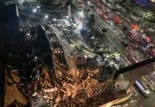Nenhuma razão para o colapso foi dada. /STR / AFP) / China OUT