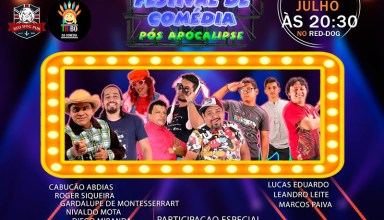 Comediante Marcos Paiva comemora aniversário em show de humor!