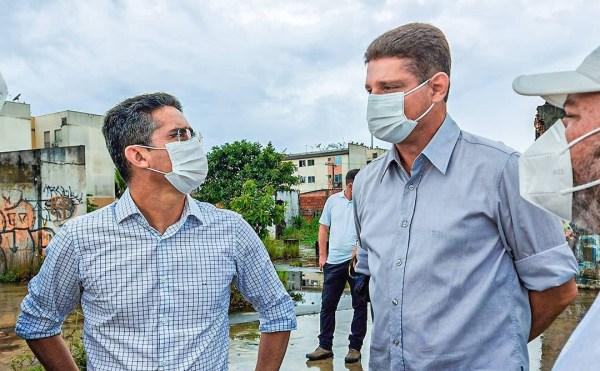 David e Rotta reafirmam compromisso com bairros periféricos de Manaus / Foto : Divulgação