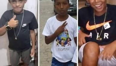 Lucas Matheus, Fernando Henrique e Alexandre da Silva: sumiço completa 7 meses nesta terça-feira (27) — Foto: Reprodução/Redes sociais