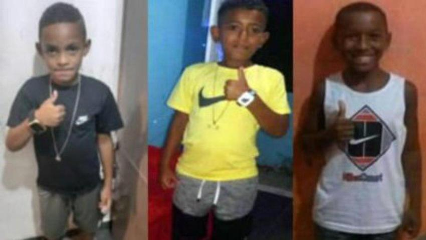 Meninos desaparecidos de Belford Roxo / Divulgação