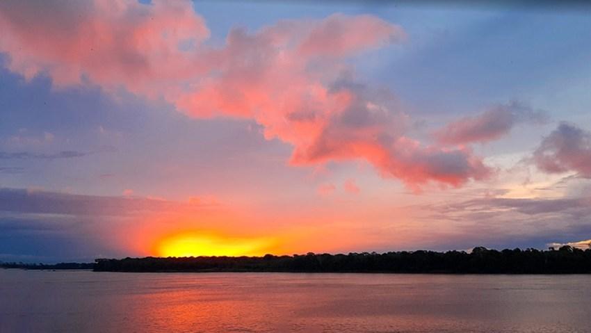 Pôr do Sol em Novo Aripuanã