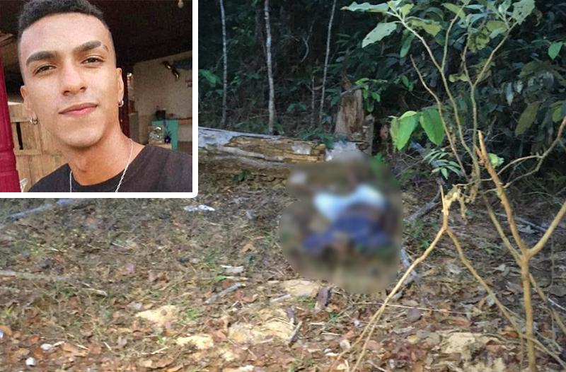 Polícia encontra corpo de ex-jogador de 21 anos morto por talaricagem