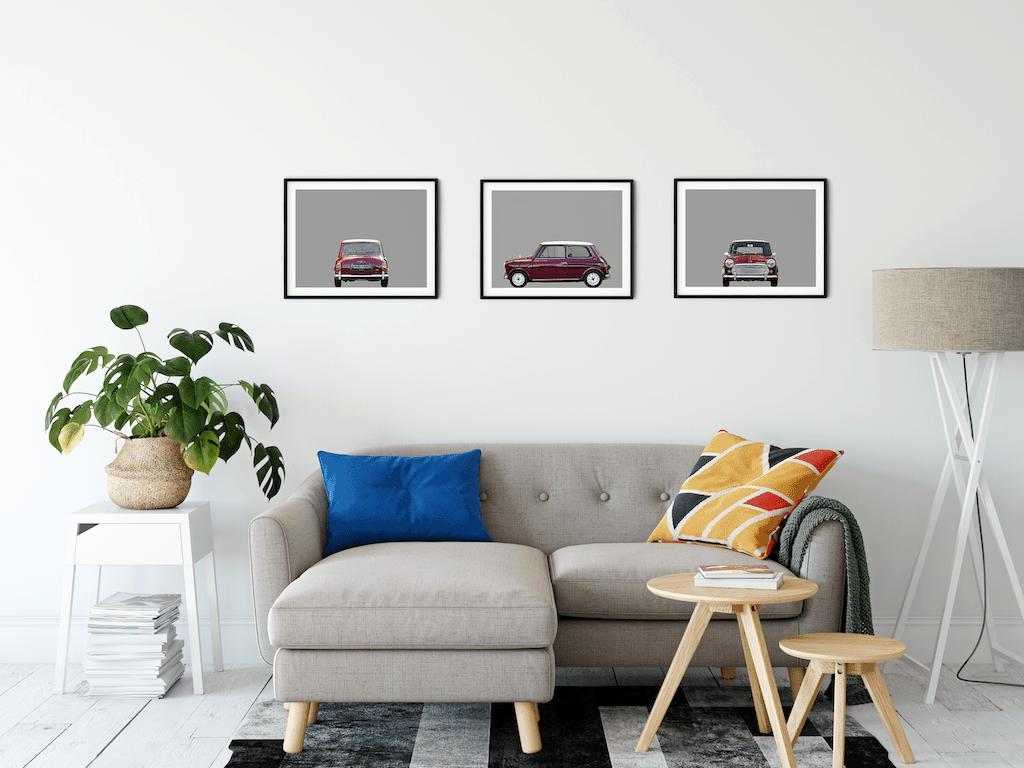 austin mini car front poster automobiles noanahiko com
